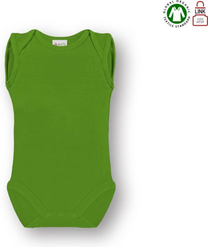 Link Kidswear Unisex Rompertje - Lime Groen - Maat 74/80