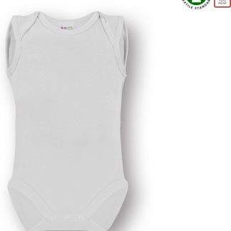 Link Kidswear Unisex Rompertje - Wit - Maat 62/68