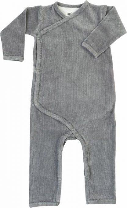 Lodger Baby Velours Boxpakje Jumper Empire - Grijs - 62