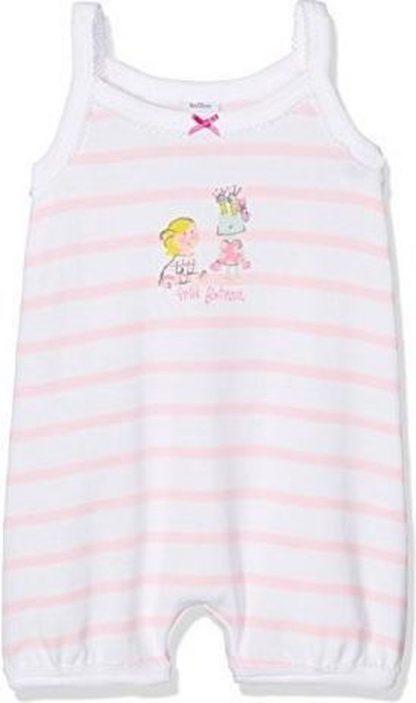 Petit Bateau Meisjes Boxpakje - Roze - Maat 18 mnd