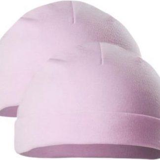 Soft Touch Babymuts Meisjes Katoen Roze