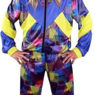 trainingspak - jaren 80 - unisex - broek en jas