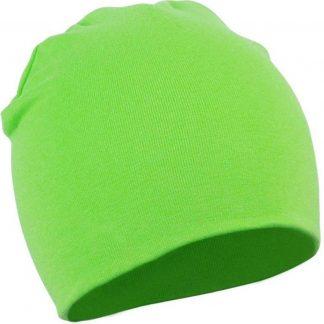 2 Stuks Comfortabele Babymuts - Groen - 19X19cm - Elastaan - Zacht - Warm - Herfst - Winter - Kindermuts