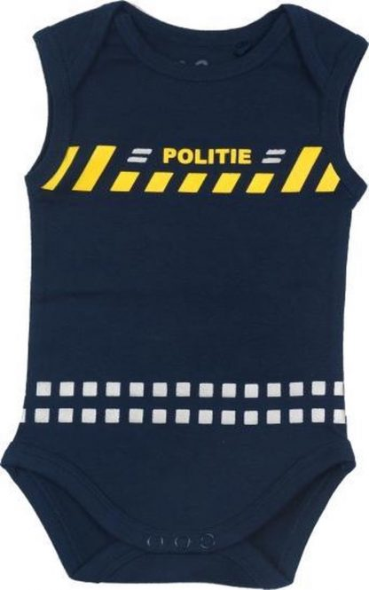 Baby Rompertje Politie Maat 74/80