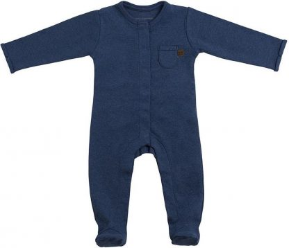 Baby's Only Melange Boxpakje Met Voetjes Jeans Mt. 68
