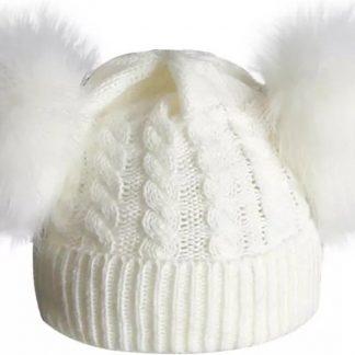 BonBini's Babymuts - Luxe babymutsjes- One Size - Unisex - Light Beige