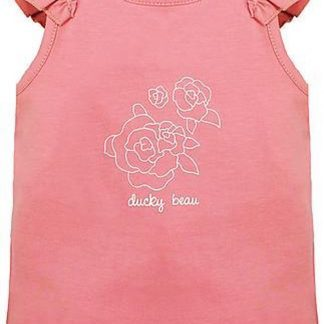 Ducky Beau Baby Top/Singlet - Strawberry Ice - Maat 86