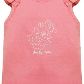 Ducky Beau Baby Top/Singlet - Strawberry Ice - maat 50