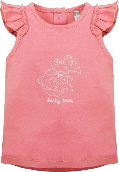 Ducky Beau Baby Top/Singlet - Strawberry Ice - maat 56