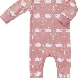 Fresk Pyjama Met Voet Whale