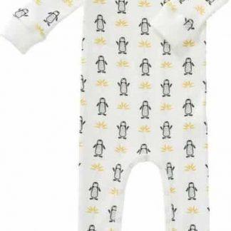 Fresk pyjama met voet Pinguin, 0-3 maand