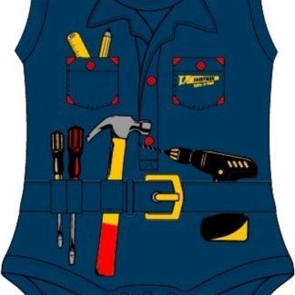 Fun2Wear Handyman Romper Navy maat 50