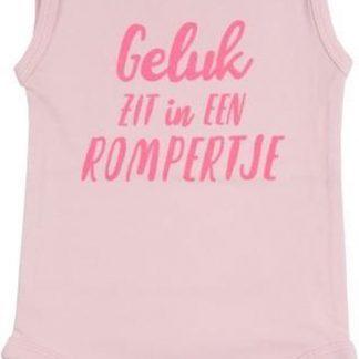 Fun2Wear Romper Geluk Barely Pink Maat 68