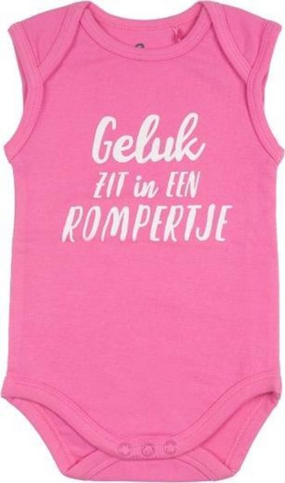Fun2Wear Romper Geluk Sachet Pink Maat 68