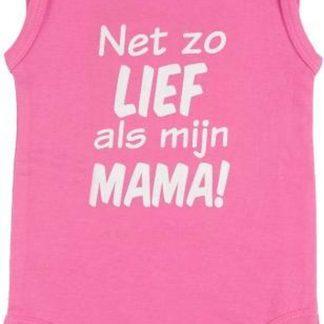 Fun2Wear Romper Net als mama Sachet pink maat 56