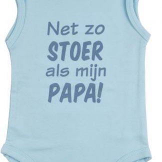 Fun2Wear Romper Net als papa light blue maat 62