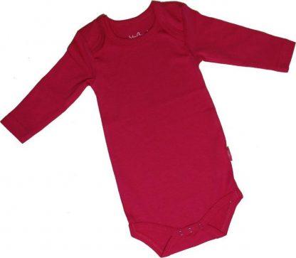 KinderBasics Baby Envelophals Rompertje - fuchsia - 80