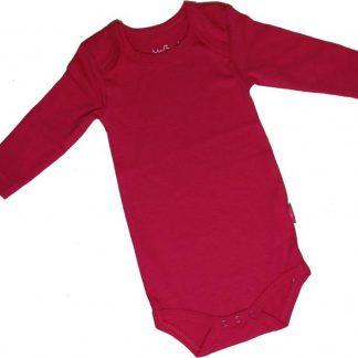 KinderBasics Romper Envelophals & lange mouw - Fuchsia - 56