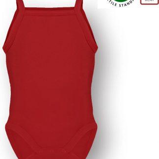 Link Kidswear Unisex Rompertje - Rood - Maat 62/68