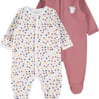 Name it - NIGHTSUIT 2P WITHERED ROSE NOOS - Withered Rose - Meisjes - Maat 68