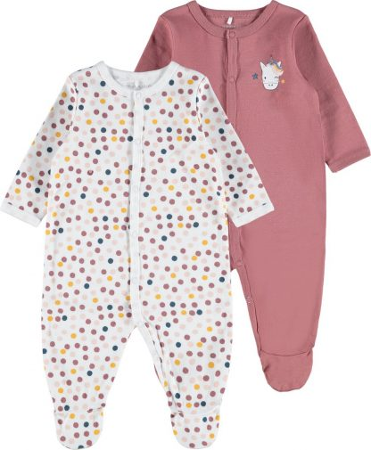 Name it - NIGHTSUIT 2P WITHERED ROSE NOOS - Withered Rose - Meisjes - Maat 74