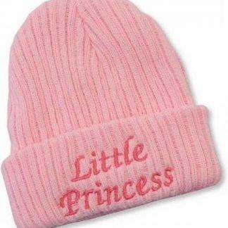 Nursery Time Babymuts Little Princess 0-3 Maanden Roze