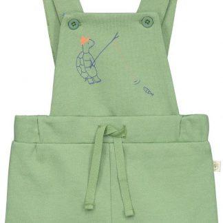 Smitten Organic - Hawkbill-Schildpad Shortall - Moss Green - Maat 62