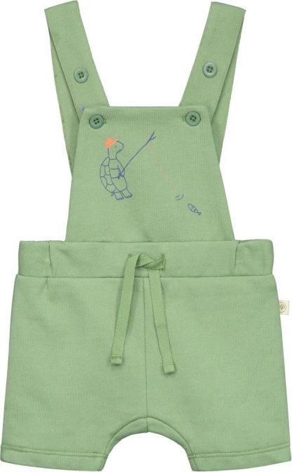 Smitten Organic - Hawkbill-Schildpad Shortall - Moss Green - Maat 74