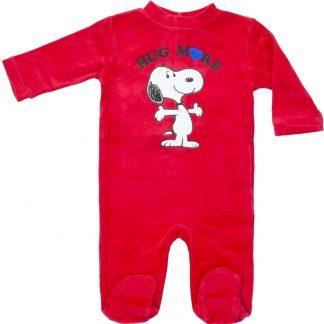Snoopy Baby Boxpak rood, maat 86