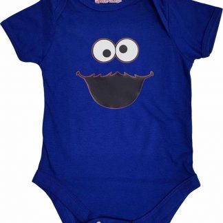 Blauwe romper met monstertje - 3 tot 6 maanden - babyshower, zwanger, cadeautje, kraamcadeau, grappig, geschenk, baby, tekst, bodieke