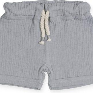 Jollein Unisex Broek - Cotton wrinkled grey - Maat 74/80