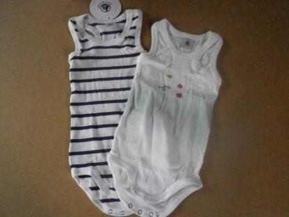 Petit Bateau Baby Multipack Rompertje 6maand voor jongen