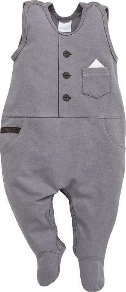 Pinokio - Babykleding - Boxpakje- Prince - Maat 62 - Oker
