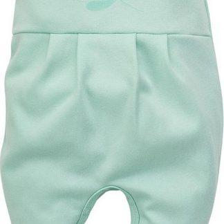Pinokio - Babykleding - Broekje met voetjes - Mint - Maat 62