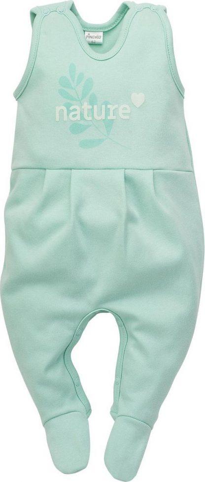 Pinokio - Babykleding - Mouwloos BoxPakje - Mint - Maat 68