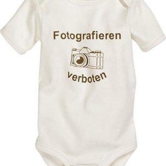 Playshoes Romper Korte Mouw Junior Katoen Beige/bruin Mt 74/80