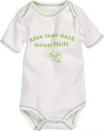 Playshoes Romper Korte Mouw Junior Katoen Beige/groen Mt 50/56