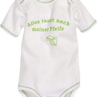 Playshoes Romper Korte Mouw Junior Katoen Beige/groen Mt 74/80