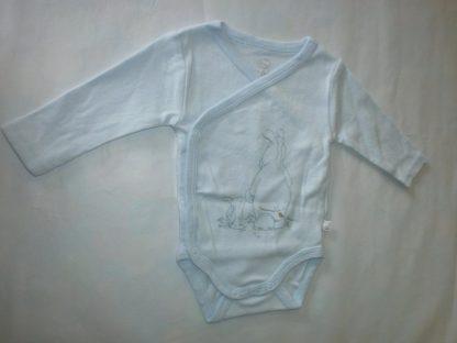 noukie's 2 pack , bodyset , lange mouw , jongen , blauw , paco 0 maand 50