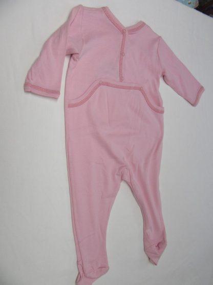 petit bateau , pyjama , katoen , rose , dierentrein , meisje, 18 maand 81