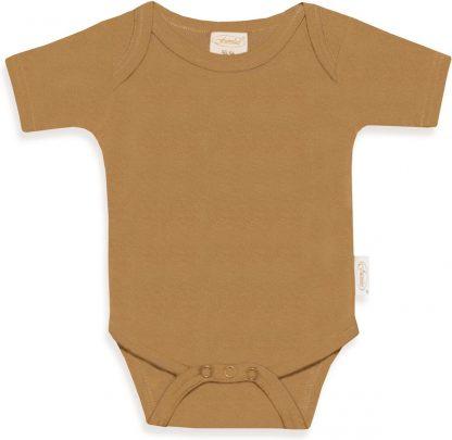 Funnies romper uni line Sand   romper 62-68   baby   100% zuivere katoen   rompertjes baby  rompers   romper korte mouw