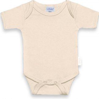Funnies romper uni line cream | romper 62-68 | baby | 100% zuivere katoen | rompertjes baby| rompers | romper korte mouw