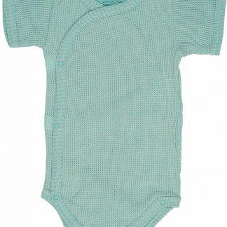 Lodger Rompertje Baby - Romper Ciumbelle - Groen - Korte mouw - 62