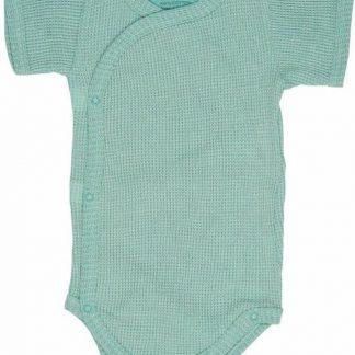 Lodger Rompertje Baby - Romper Ciumbelle - Groen - Korte mouw - 68