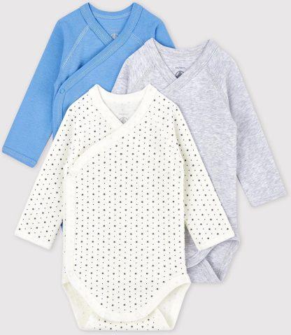 Petit Bateau Baby Meisjes Rompertje - Maat 50