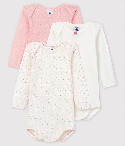 Petit Bateau Baby Meisjes Rompertje - Maat 74