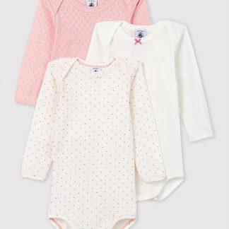 Petit Bateau Baby Meisjes Rompertje - Maat 86