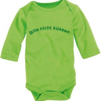 Schnizler Romper Lange Mouw Junior Katoen Groen Mt 62/68